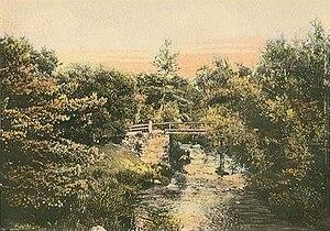 Madbury, New Hampshire - Mill Hill Road Bridge c. 1905