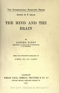 Mind and the Brain (1907).djvu