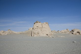 Tibet - Miran fort
