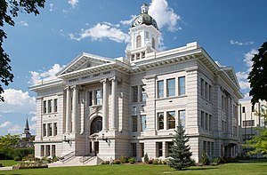 Missoula County, Montana - Image: Missoula county courthouse