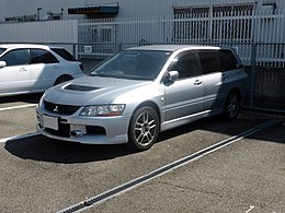 Mitsubishi Lancer Evolution Wagon GT-A (CT9W) front.JPG