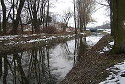 Mleczna (dopływ Radomki)-za zalewem.jpg