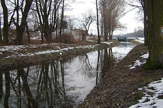 Mleczna (river) river in Poland