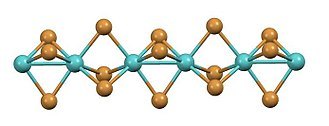 Octahedral molecular geometry - Image: Mo Br 3sideview