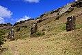 Moai at Rano Raraku - Easter Island (5955843077).jpg