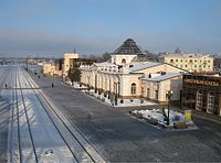 Mogiljov railway station1-BY.jpg
