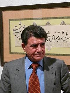 Mohammad-Reza Shajarian Iranian singer and musician
