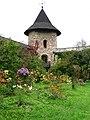 Moldovita Monastery garden - panoramio.jpg