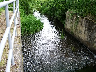 Monkland Canal - Image: Monkland Canal Start