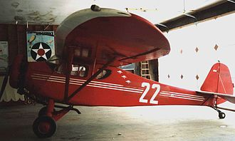 Monocoupe 90 - 1932-built Monocoupe 90 at Old Rhinebeck Aerodrome in 2005