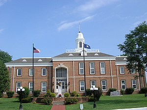 Tompkinsville, Kentucky - Monroe County Courthouse in Tompkinsville