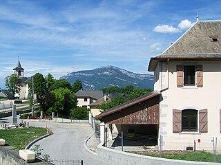 Montagnole Commune in Auvergne-Rhône-Alpes, France