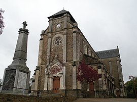 The church in Montbert