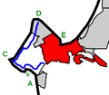 Monterey Peninsula highlighting Monterey and 17 Mile Drive.png