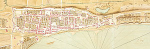 Gaspard-Joseph Chaussegros de Léry (military engineer) - Plan of Montreal laid out by de Léry, 1731.