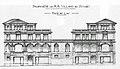 Montreux, élévation des façades des villas Pauline et Toscane, projet Louis Villard, 1905.jpg