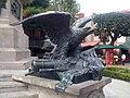Monumento a la Corregidora en Querétaro, México (detalle de las águilas).jpg