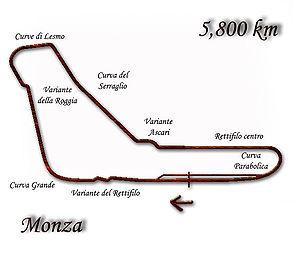 1994 Italian Grand Prix - Image: Monza 1994