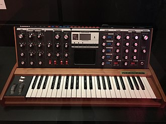J Dilla - Minimoog Voyager, as owned by J Dilla.