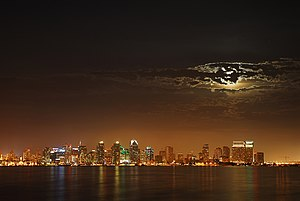 Clifford has consulted since 1975 to many people in this city, like a Moon over San Diego.