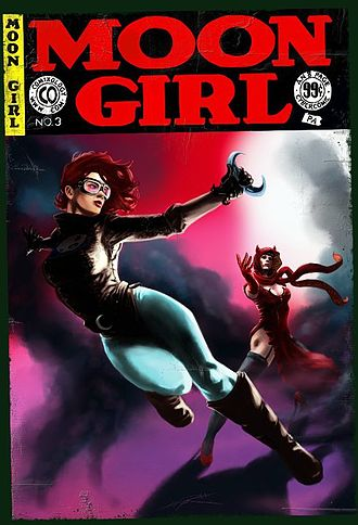 Moon Girl (EC Comics) - 2010 ComiXology version of Moon Girl