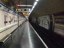 Moorgate station Great Northern platform 9 look south.JPG