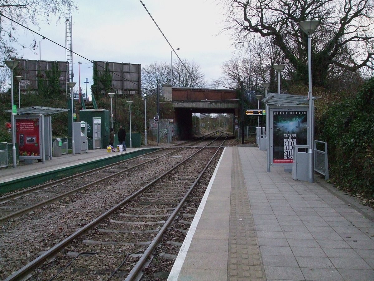 morden road tram stop wikipedia. Black Bedroom Furniture Sets. Home Design Ideas