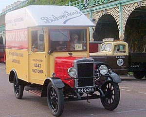 Morris Commercial Cars - Morris Commercial 1 ton van of 1928