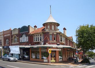 Mosman, New South Wales - Conservation area shop fronts, Military Road