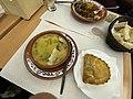 Most delicious sopa do dia (caldo verde today) €1.40 (Forgot the name of the tasty pastry.) Ponta Delgada, São Miguel, Azores (Açores) Archipelago, Portugal (49028608628).jpg