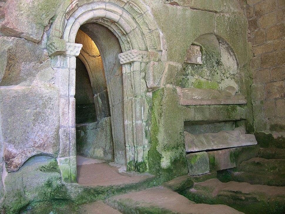 Mosteiro de San Pedro de Rocas, Esgos, Galiza 6
