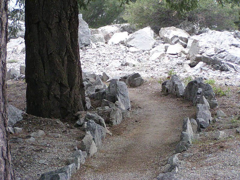 File:Mount Baldy Zen Center Meditation Path.jpg