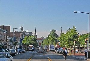 Mount Pleasant, Washington, D.C. - Mount Pleasant Street NW, the commercial corridor of the Mount Pleasant neighborhood