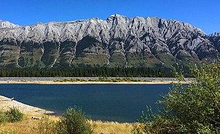 Mount Wintour Mountain in Alberta, Canada