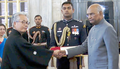 Mr.Satoshi Suzuki with President of India, Shri Ram Nath Kovind.png