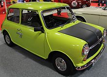 Mr bean wikipedia one of the original british leyland mini 1000s solutioingenieria Choice Image