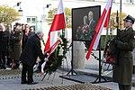 Msza święta, Apel Pamięci, kwiaty przy pomnikach i grobach. Obchody 9. rocznicy katastrofy smoleńskiej.jpg