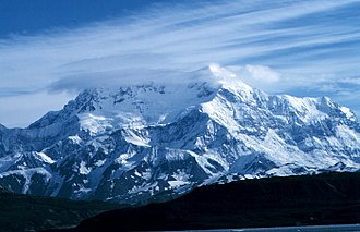 Mount Saint Elias - Mount St. Elias from Icy Bay, Alaska