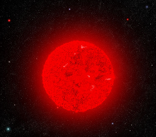 red giant star compared to sun - photo #28