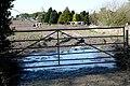 Muddy gate at Holly Farm - geograph.org.uk - 1218869.jpg