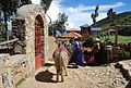 Mujeres, Isla del Sol, Lago Titicaca, Bolivia.JPG