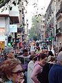 Multitudes en el Carrer dels Oms durante las procesiones de Semana Santa.jpg