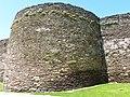 Muralla romana de Lugo, torre redonda de la muralla.jpg
