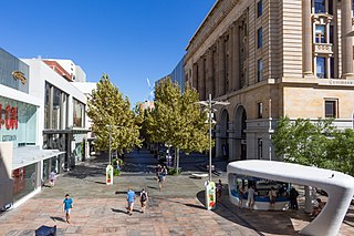 Murray Street, Perth street in CBD of Perth, Western Australia