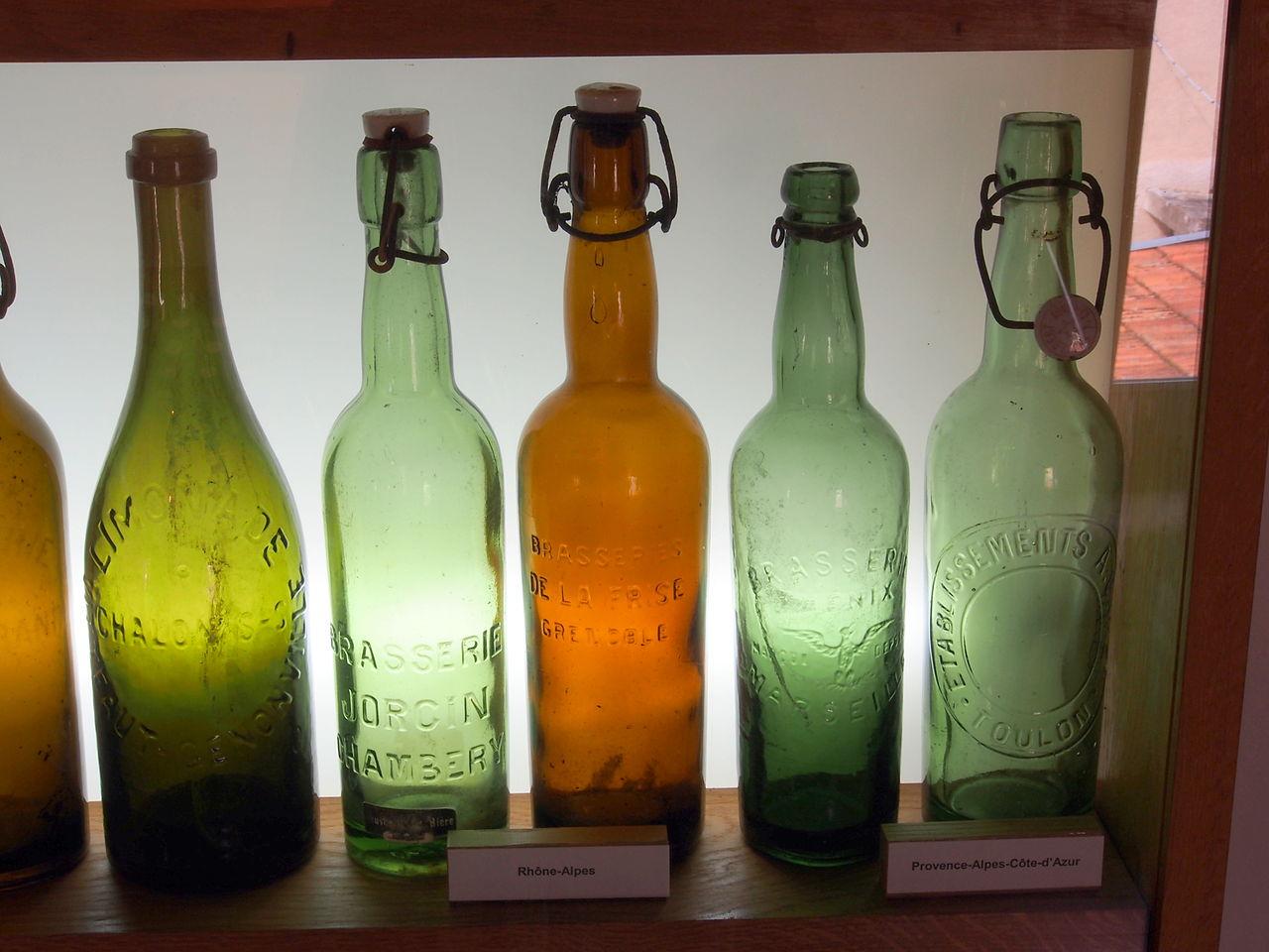 dating old beer bottles