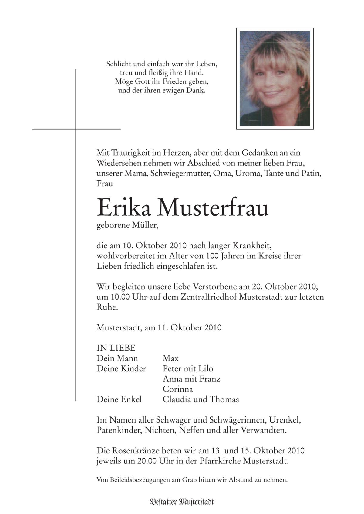 parte – wikipedia, Einladung
