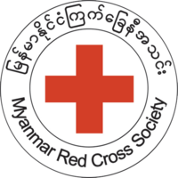 Myanmar Red Cross Society logo
