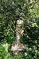Myddelton House garden, Enfield, London ~ Pedestal headless sculpture.jpg