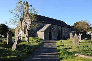 Myddfai village in United Kingdom