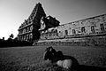 N-TN-C94 Small Nandi lying on Grass at Brihadiswara Temple.jpg